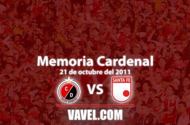 Memoria 'cardenal':La última victoria de Santa Fe en la ciudad de Cúcuta por Liga local