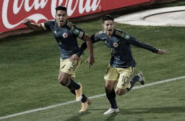 Colômbia empata com Chile em jogo emocionante graças a gol salvador de Falcao García