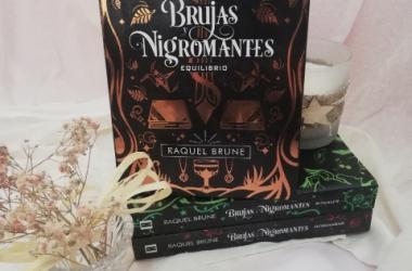 """""""Brujas y Nigromantes"""" de Raquel Brune"""