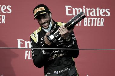 """Daniel Ricciardo comemora segundo pódio na F1: """"Tive um ritmo muito bom"""""""