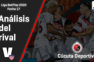 Junior de Barranquilla, análisis del rival: Cúcuta Deportivo (Fecha 17, Liga 2020)