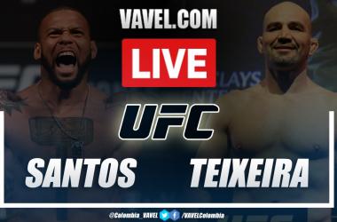 Result and Highlights: Thiago Santos vs Glover Teixeira in UFC Vegas 13