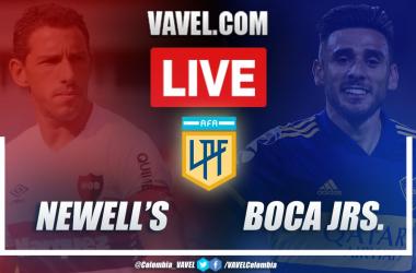 Resumen, resultado y goles de Newell's vs Boca por la Copa de la Liga Profesional Argentina (0-2)