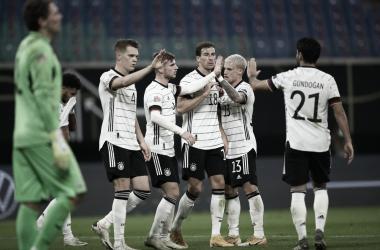 Com dois gols de Timo Werner, Alemanha vira sobre Ucrânia e fica perto da classificação