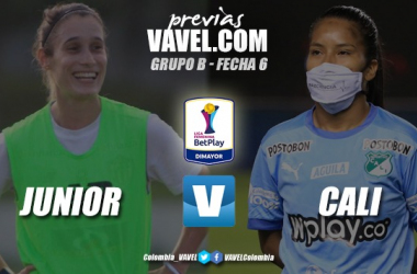 Previa Junior vs. Deportivo Cali: duelo clave por un cupo a la siguiente fase