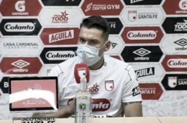 """Leandro Castellanos: """"No es fácil jugar 200 partidos en una institución tan grande"""""""