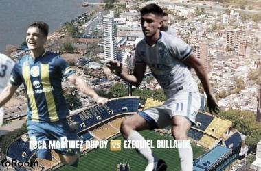 Bullaude vs Dupuy: Vital un reencuentro con el gol.