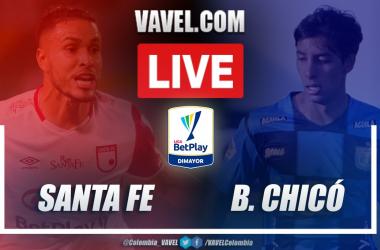 Resumen Santa Fe vs Chicó (2-0) en la fecha 9 por Liga BetPlay 2021-I