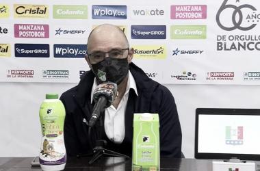 Alfredo Arias, técnico del Deportivo Cali / Dimayor.