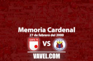 Memoria cardenal: victoria de Santa Fe ante el Deportivo Pasto en Soacha