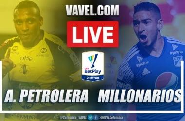 Resumen Alianza Petrolera vs Millonarios (0-2) en la fecha 11 por Liga BetPlay 2021-I