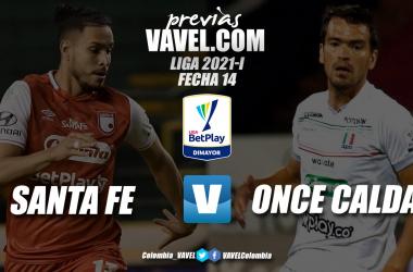 Previa Independiente Santa Fe vs. Once Caldas: será determinante una victoria