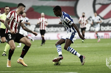 Gol e melhores momentos para Athletic Bilbao 0 x 1 Real Sociedad pela Copa do Rei