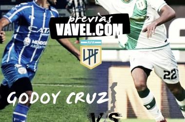 Godoy Cruz y Banfield se enfrentaron por última vez en Mendoza en la Superliga 2019/20 con victoria del Taladro por 0-2. Foto: montaje de Vavel.