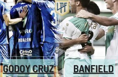 Banfield y Godoy Cruz se enfrentan con la ilusión de meterse en la siguiente fase