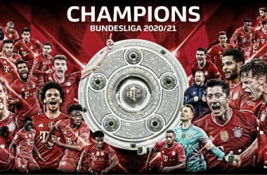 El Bayern Múnich levantó su noveno título consecutivo. / Twitter: Bundesliga English oficial