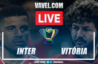 Gols e melhores momentos de Inter x Vitória pela Copa do Brasil (1-3)