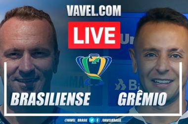 Melhores momentos para Brasiliense x Grêmio pela Copa do Brasil (0-0)