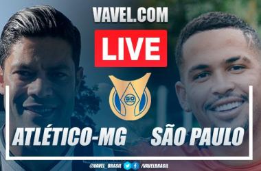 Gol e melhores momentos Atlético-MG x São Paulo pelo Campeonato Brasileiro 2021 (1-0)