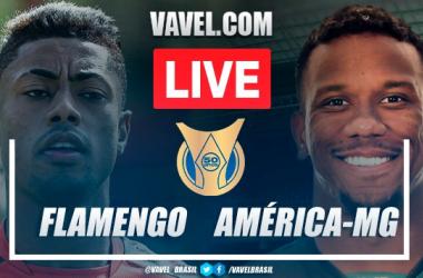Gols e melhores momentos de Flamengo x América-MG pelo Campeonato Brasileiro (2-0)