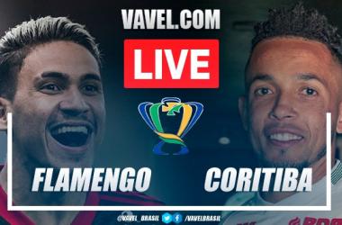 Gols e melhores momentos Flamengo x Coritiba pela Copa do Brasil (2-0)