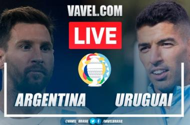 Gol e Melhores momentos de Argentina 1-0 Uruguai