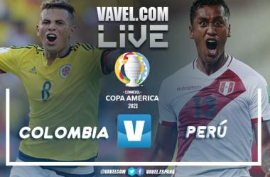Colombia vs Perú EN VIVO y en directo online por la Copa América