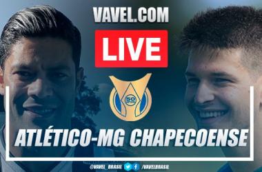 Gols e melhores momentos Atlético-MG x Chapecoense pelo Campeonato Brasileiro (1-1)