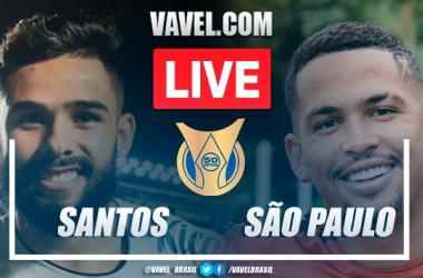 Gols e melhores momentos Santos x São Paulo pelo Brasileirão (2-0)