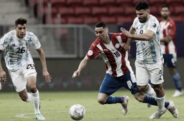 """Miguel Almirón: """"Nos faltó profundidad en el juego"""""""