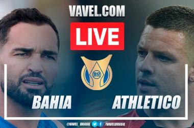 Gols e melhores momentos para Bahia x Athletico pelo Campeonato Brasileiro (2-1)