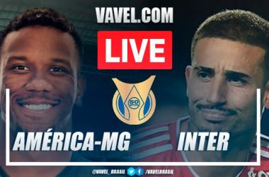 Gols e melhores momentos América-MG x Inter pelo Campeonato Brasileiro 2021 (1-1)
