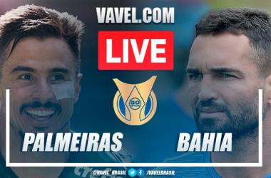 Gols e melhores momentos para Palmeiras 3x2 Bahia pelo Campeonato brasileiro