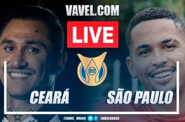 Gols e melhores momentos de Ceará 1 x 1 São Paulo pelo Campeonato Brasileiro