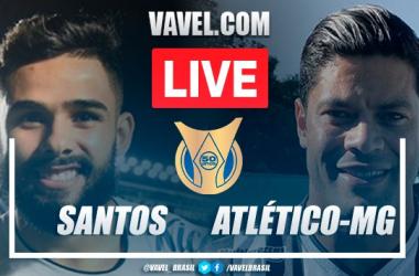 Gols e melhores momentos Santos x Atlético-MG (2-0)