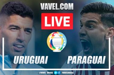 Gol e melhores momentos de Uruguai x Paraguai (1-0)