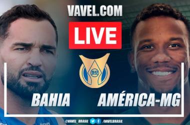 Gols e melhores momentos Bahia 3x4 América-MGpelo Campeonato Brasileiro