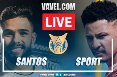 Melhores momentos Santos x Sport pelo Campeonato Brasileiro (0-0)