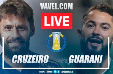 Gols e melhores momentos Cruzeiro x Guarani pela Série B (3-3)