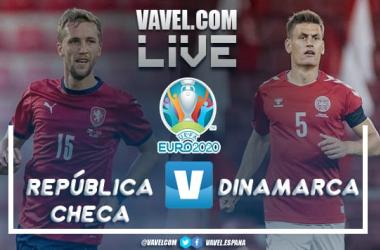 Resumen República Checa vs Dinamarca por la Eurocopa 2020 (1-2)