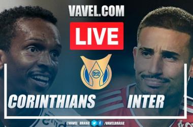 Gols e melhores momentos para Corinthians 1x1 Internacional pelo Campeonato Brasileiro