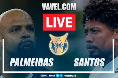 Gols e melhores momentos para Palmeiras 3x2 Santos pelo Campeonato Brasileiro