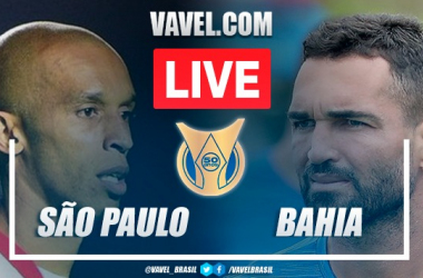 Gols e melhores momentos São Paulo x Bahia pelo Campeonato Brasileiro (1-0)