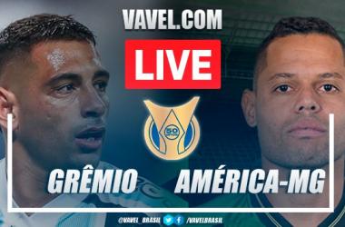 Gols e melhores momentos de Grêmio 1 x 1 América-MG pelo Campeonato Brasileiro