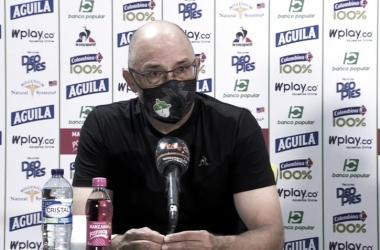Alfredo Arias, técnico del Deportivo Cali.
