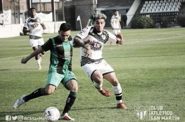 15/08/2021 All Boys 0 - 1 San Martín SJ (FOTO: Prensa CASM)