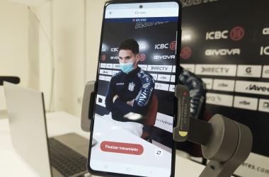 """Rodrigo Villagra: """"Podríamos haber hecho un golcito o dos más."""""""
