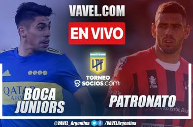 Resumen Boca Juniors vs Patronato (1-0) en la fecha 7 de la Liga Argentina 2021