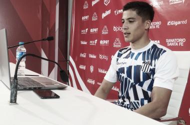 "Julián Malatini: ""Fue un partido difícil, muy intenso."""