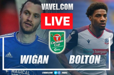 Goals and Highlights Wigan 0(5)-(4)0 Bolton in Carabao Cup
